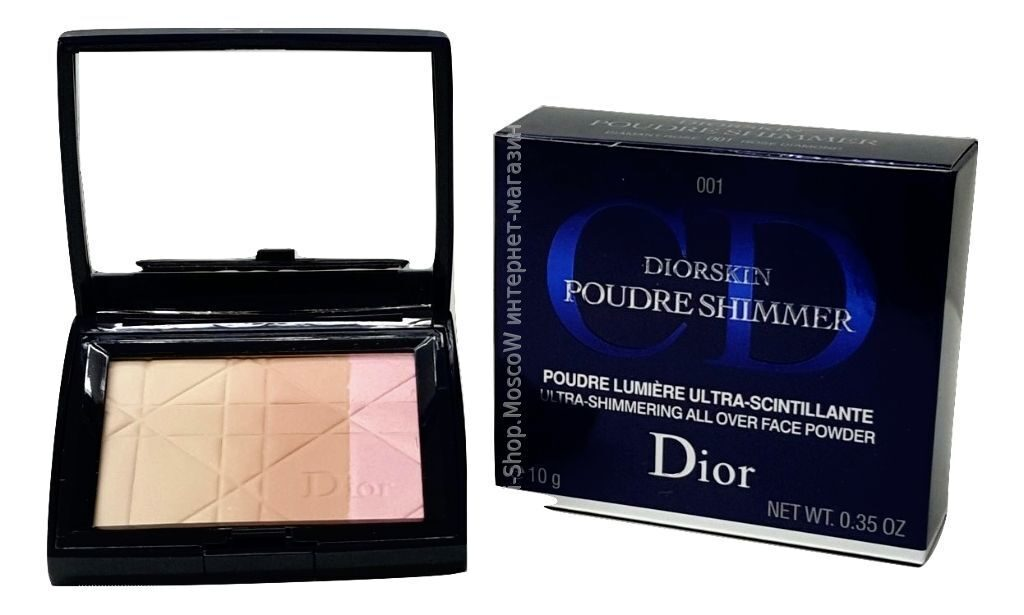Пудра Dior Diorskin Poudre shimmer(1)