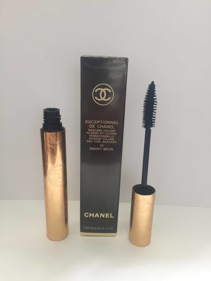 CHANEL Тушь  EXCEPTIONNEL DE  CHANEL 10 SMOKY BRUN 8g (ПУШИСТАЯ кисть)