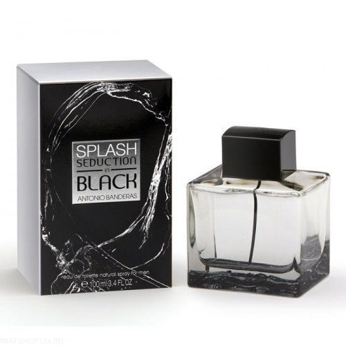 Antonio Banderas  -Splash Seduction In Black