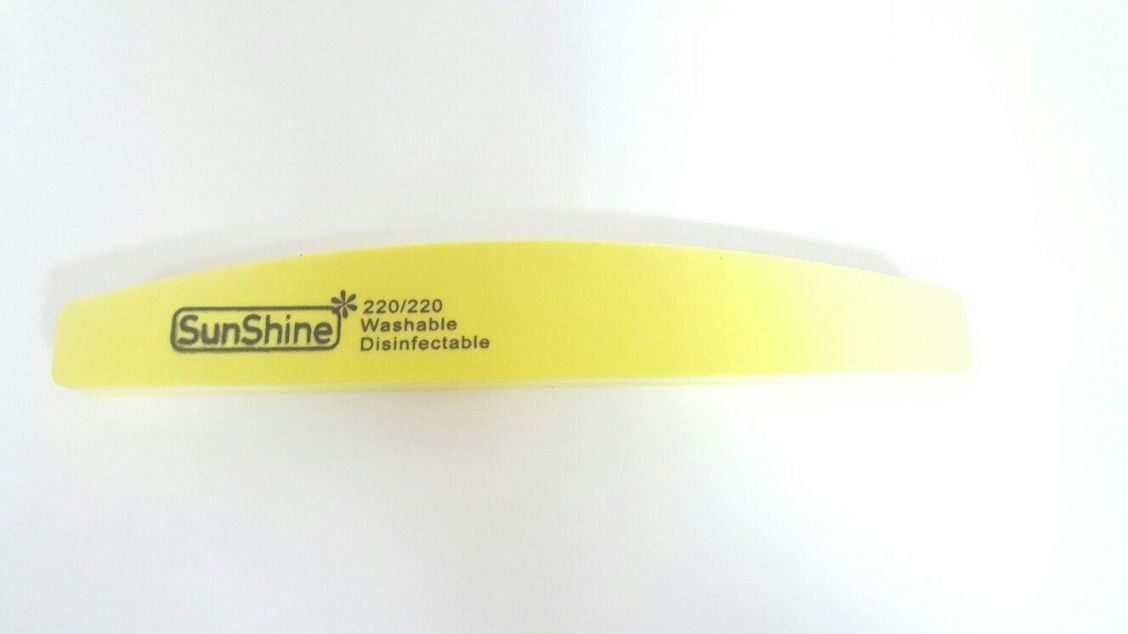 Пилочка 220/220 SunShine Washable Disinfictable