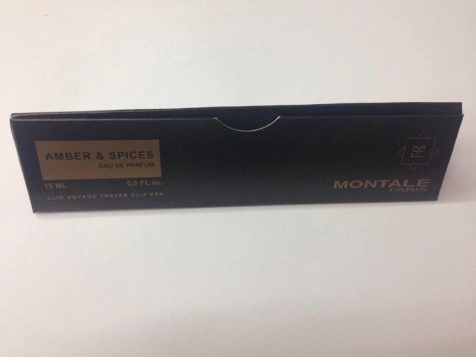 MONTALE amber & spices edp 15ml