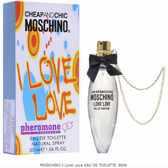 MOSCHINO I Love Love EAU DE TOILETTE - 30ml