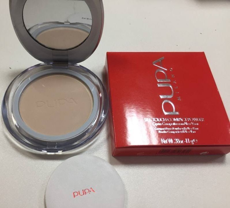 ПУДРА PUPA SILK TOUCH COMPACT POWDER - 11 G №1