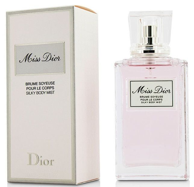 Dior miss dior brume soyeuse pour le corps silky body mist 100ML2017