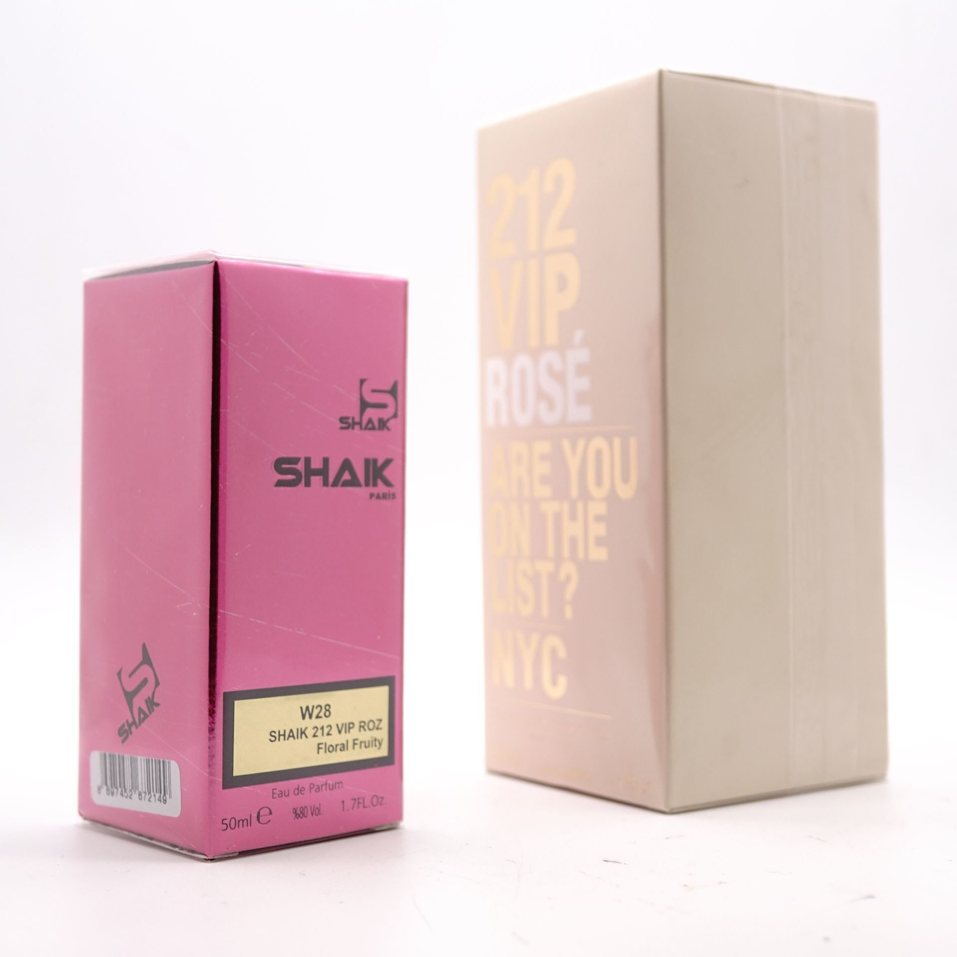 SHAIK W 28 (CH 212 VIP ROSE FOR WOMEN) 50ml