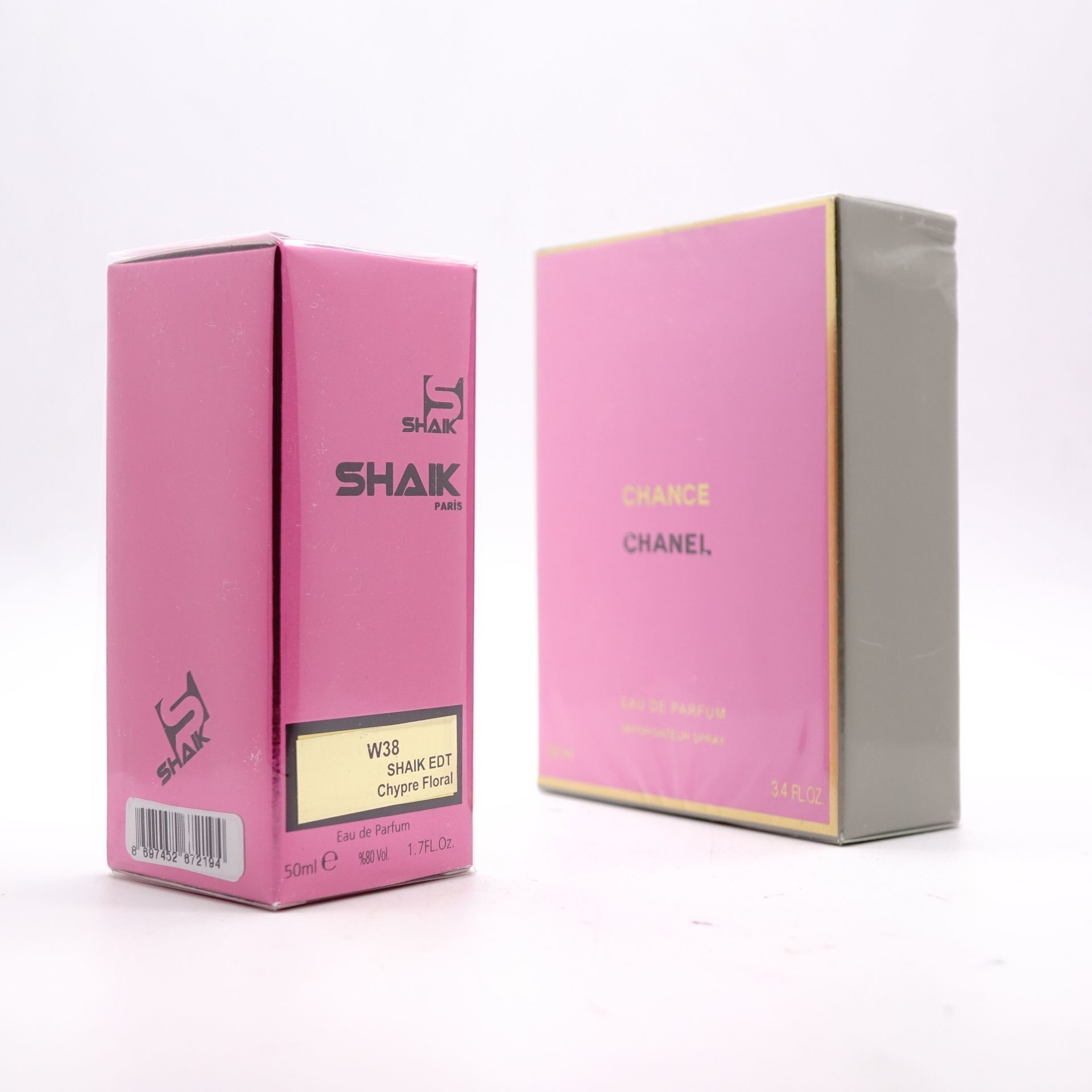 SHAIK W 38 (CHANEL CHANCE EDP FOR WOMEN) 50ml