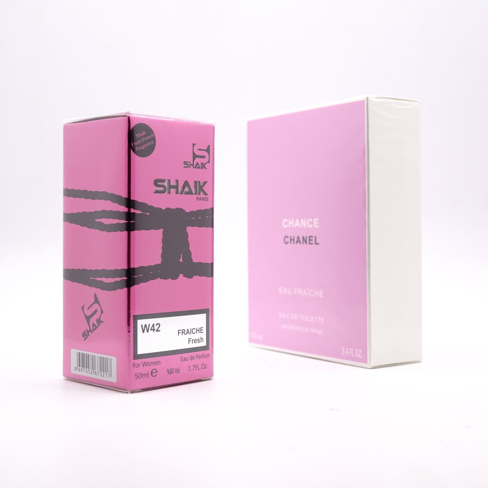 SHAIK W 42 (CHANEL CHANCE EAU FRAICHE FOR WOMEN) 50ml