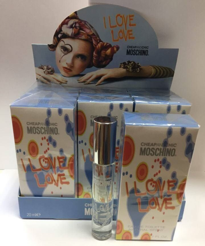 СПРЕЙ  MOSCHINO I LOVE LOVE  20ml