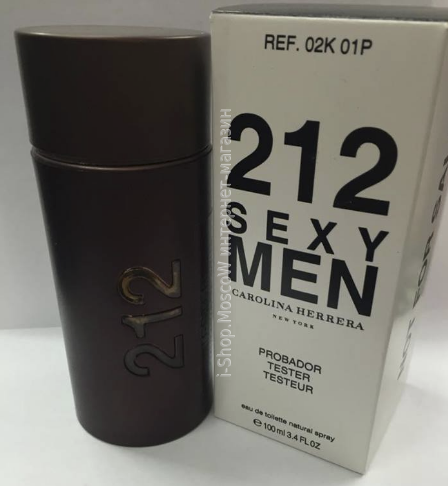 212 sexy men carolina herrera (tester)