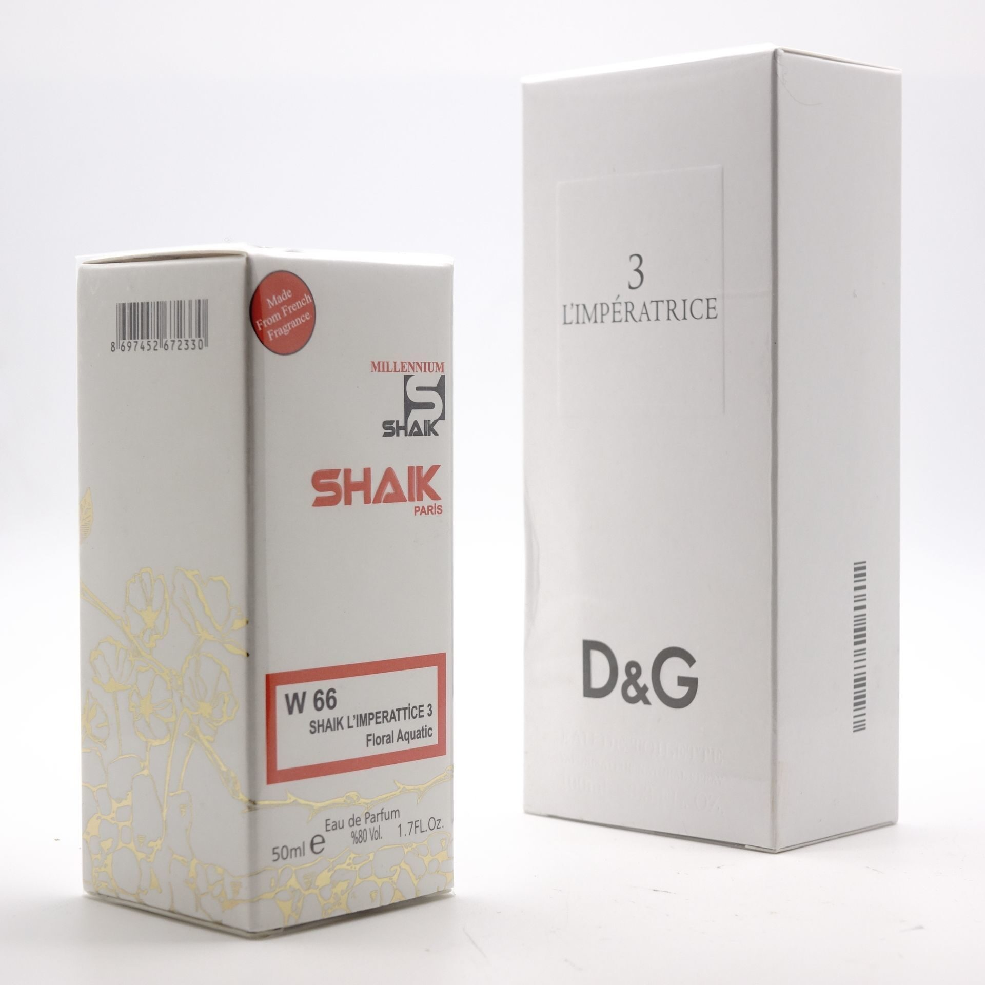 SHAIK W 66 (D&G 3 L'IMPERATRICE FOR WOMEN) 50ml