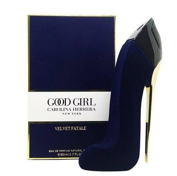 CAROLINA HERRERA GOOD GIRL VELVET FATALE , 80ML BLUE