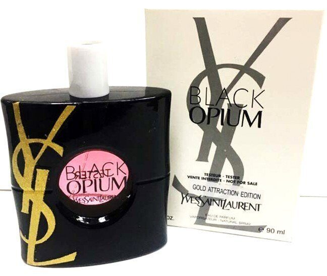 Тестер Yves Saint Laurent Black Opium Gold Attraction Edition  90 ml