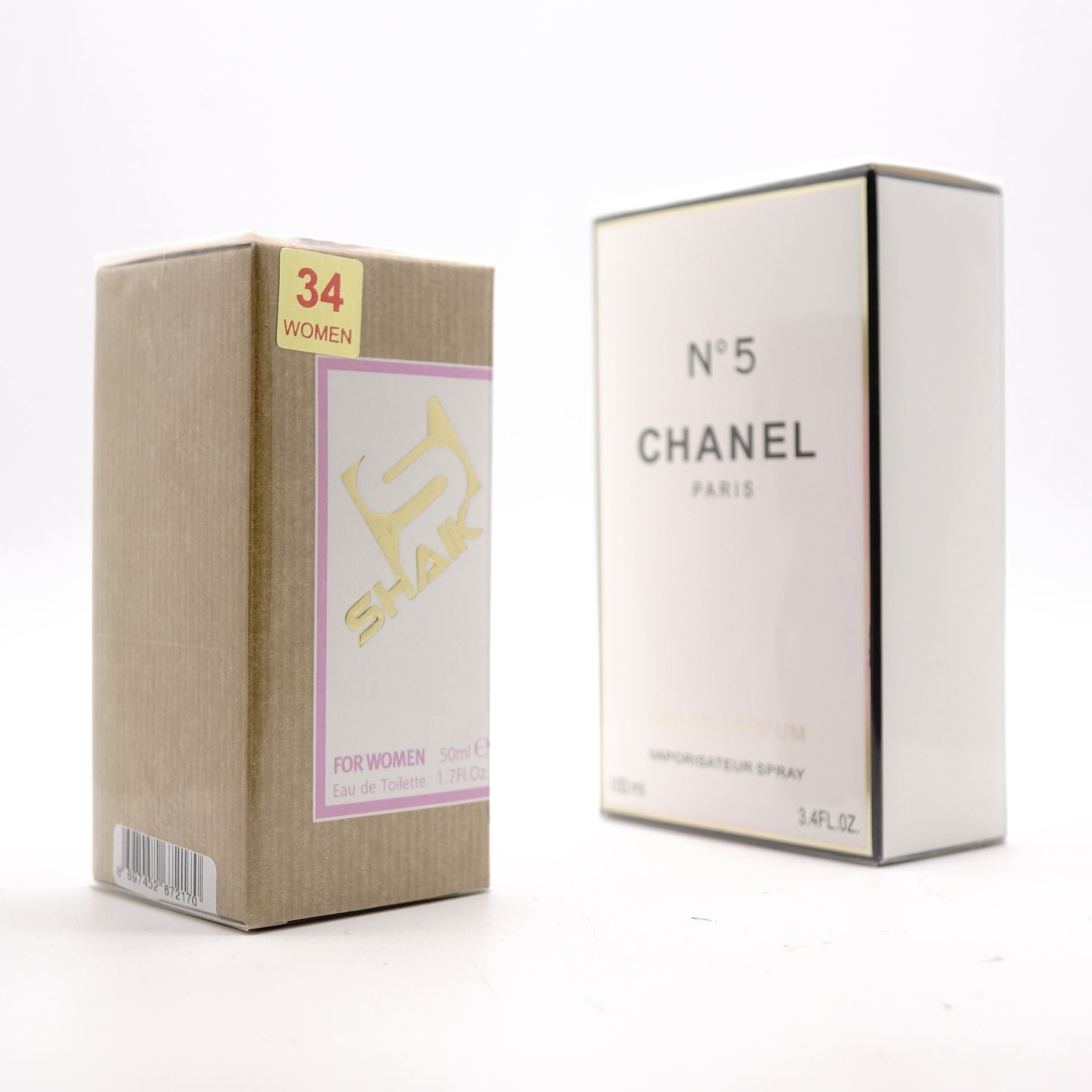 SHAIK W 34 (CHANEL №5 FOR WOMEN) 50ml