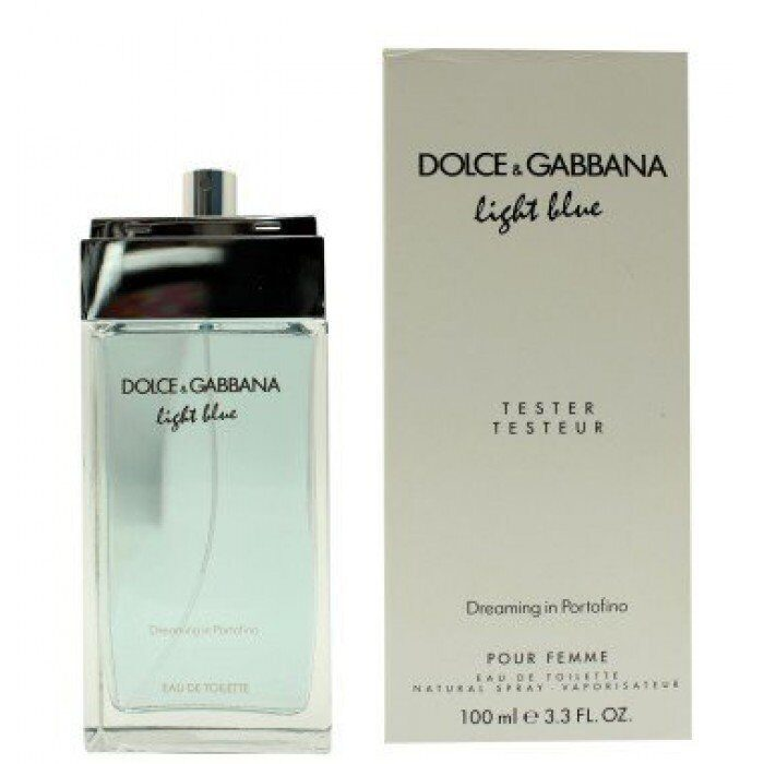 Тестеры Dolce & Gabbana Light Blue Dreaming in portofino for Women 100ml