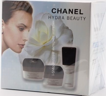 НАБОР КРЕмов CHANEL HYDRA BEAUTY 50g 50g 15ml 3in1