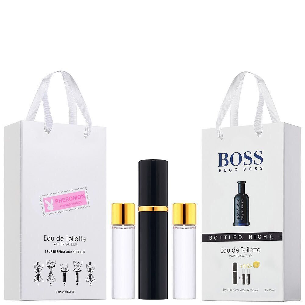 BOSS HUGO BOSS BOTTLED NIGHT духи с феромонами 3*15