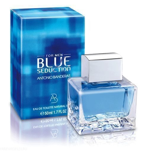 Antonio Banderas  -Blue Seduction for Men