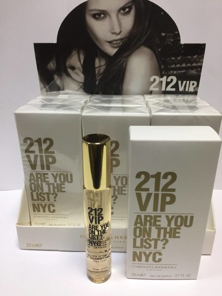 СПРЕЙ  Carolina Herrera 212 VIP   20ml
