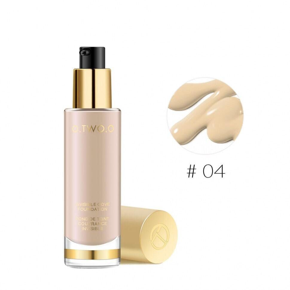 Тональный крем O.TWO.O Gold Invisible Cove Foundation № 4 30 ml.