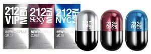 Набор C.H 212 VIP Men Pills 3 x 20 ml