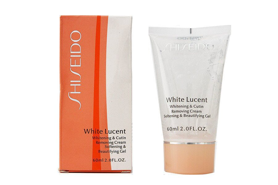 Пилинг Shiseido White Lucent Whitening & Cutin Removing Cream 60 ml