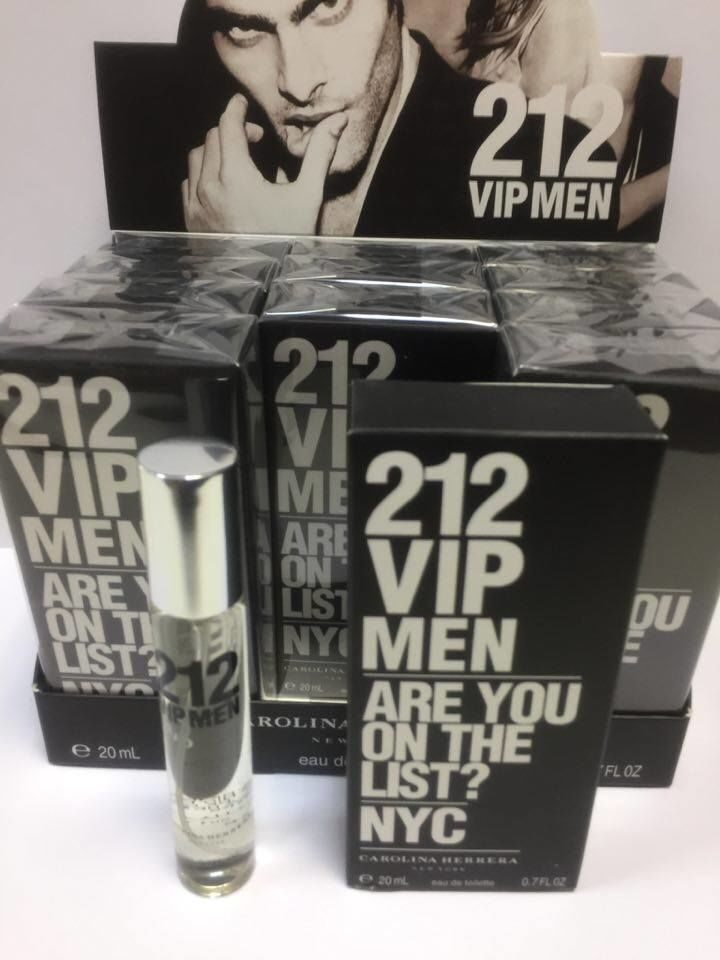 СПРЕЙ   CAROLINA HERERA 212VIP MEN  20ml