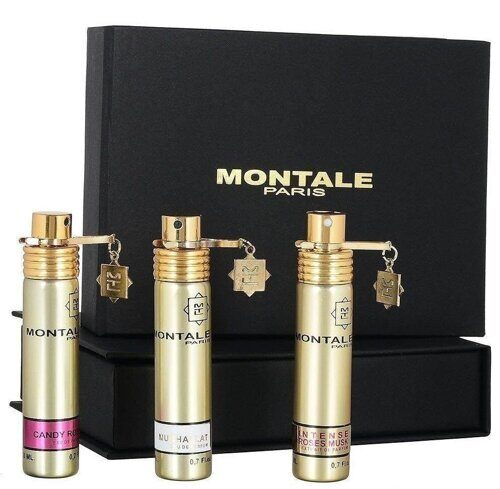 Оптом Набор Montale 3х20 ml. (Candy Rose - Mukhalat - Intense Roses Musk) не дорого