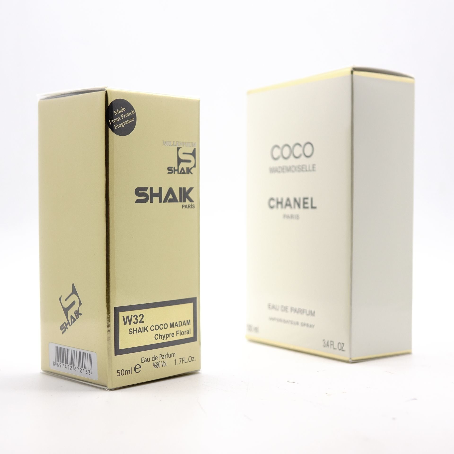 SHAIK W 32 (CHANEL COCO MADEMOISELLE FOR WOMEN) 50ml