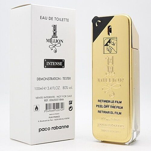 PACO RABANNE 1 MILLION INTENSE FOR MEN EDT 100ML (тестер)