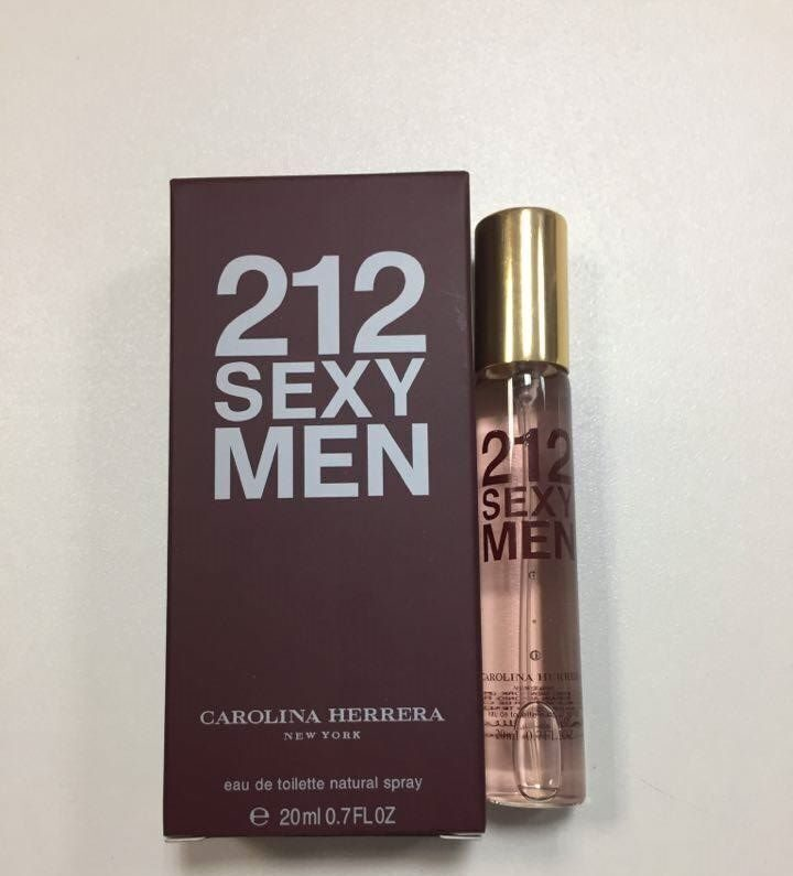 СПРЕЙ  Carolina  Herrera 212 SEXY MEN   20ml