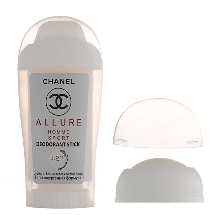 Дезодорант-стик Chanel Allure Homme Sport 40 ml. for man