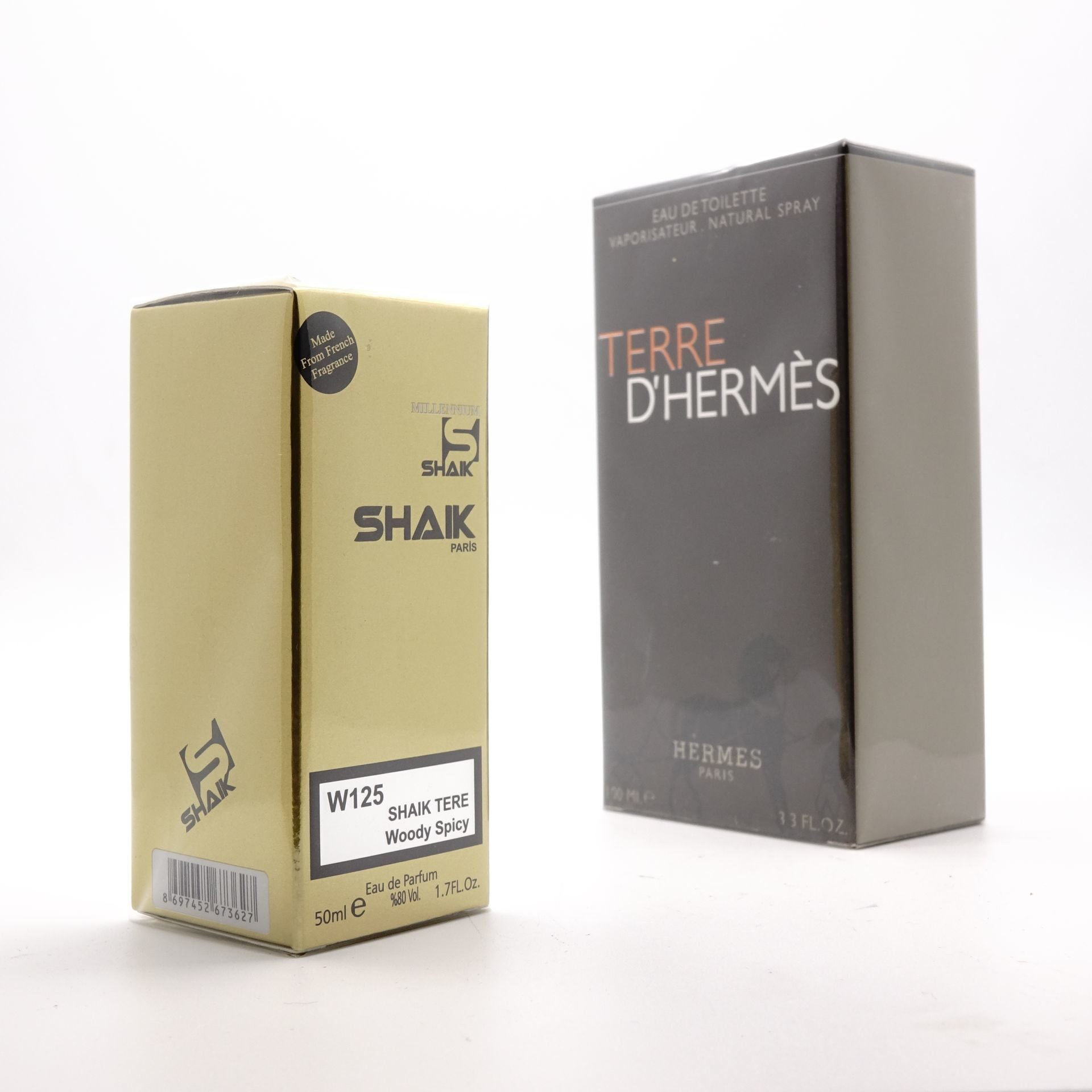 SHAIK M 125 (HERMES TERRE D'HERMES FOR MEN) 50ml