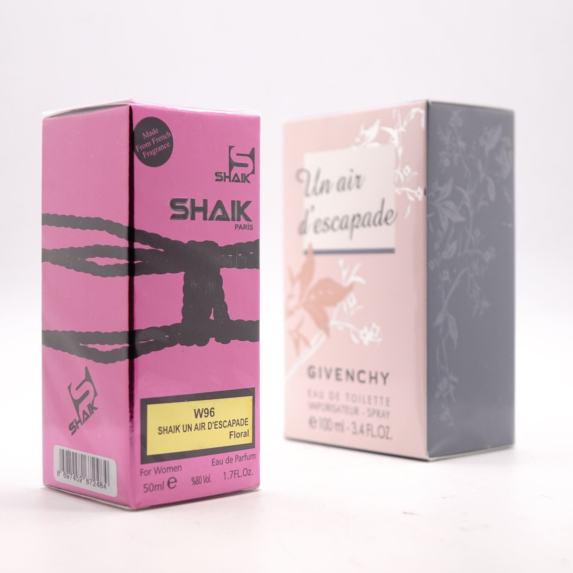 SHAIK W 96 (GIVENCHY UN AIR D'ESCAPADE FOR WOMEN) 50ml