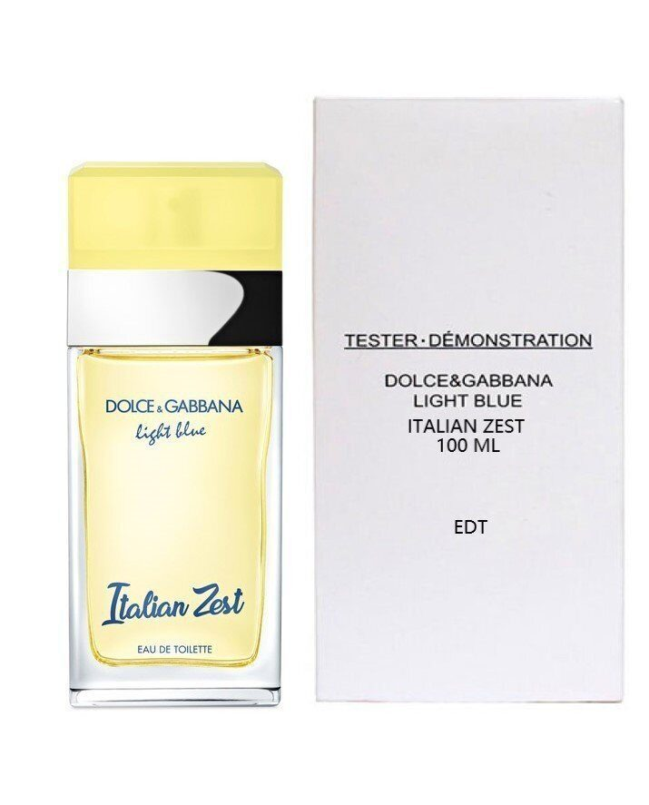 (тестер)Dolce & Gabbana Light Blue Italian Zest (ж) 100 ml