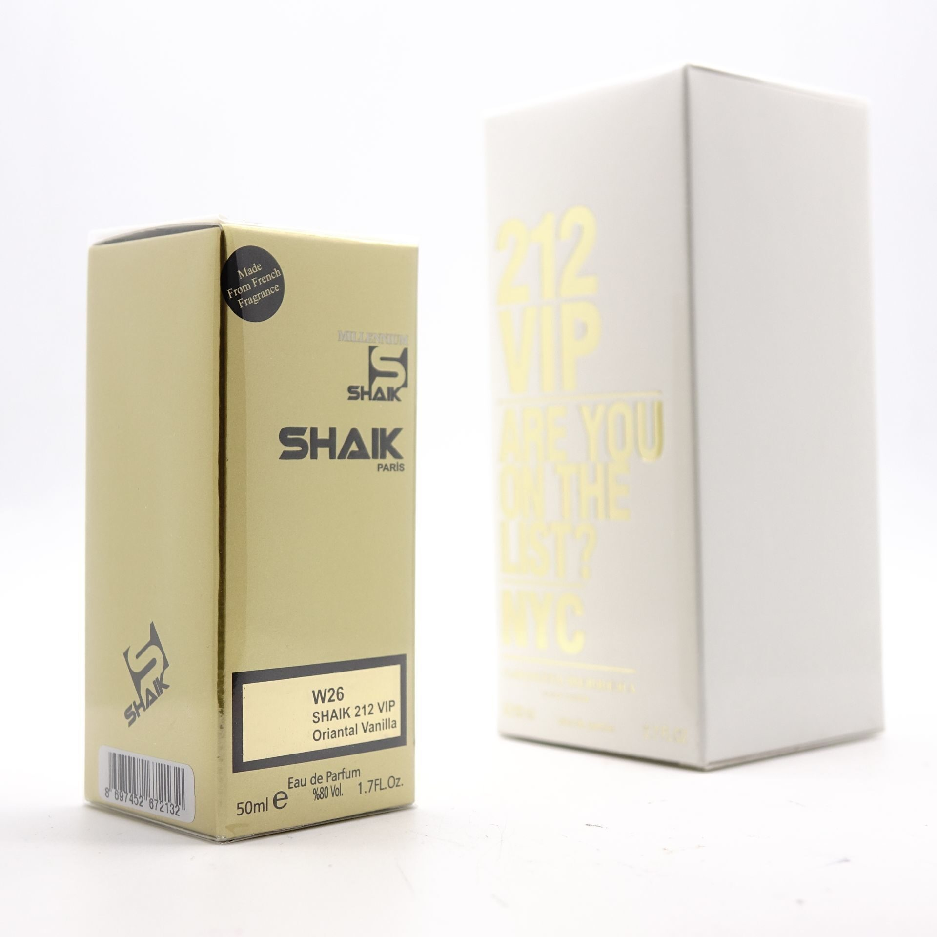 SHAIK W 26 (CH 212 VIP FOR WOMEN) 50ml