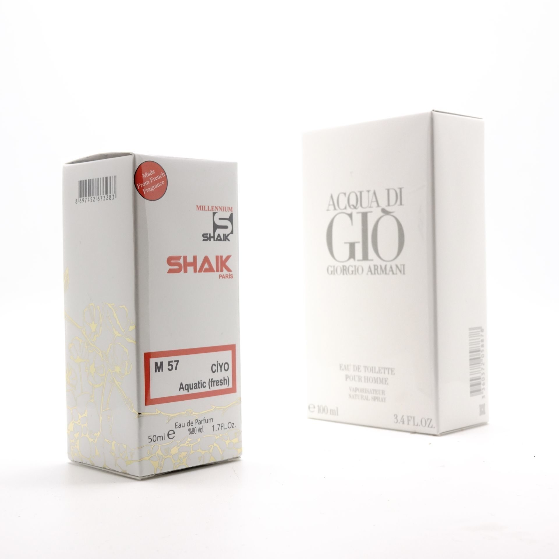 SHAIK M 57 (GIORGIO ARMANI ACQUA Dl GIO FOR MEN) 50ml