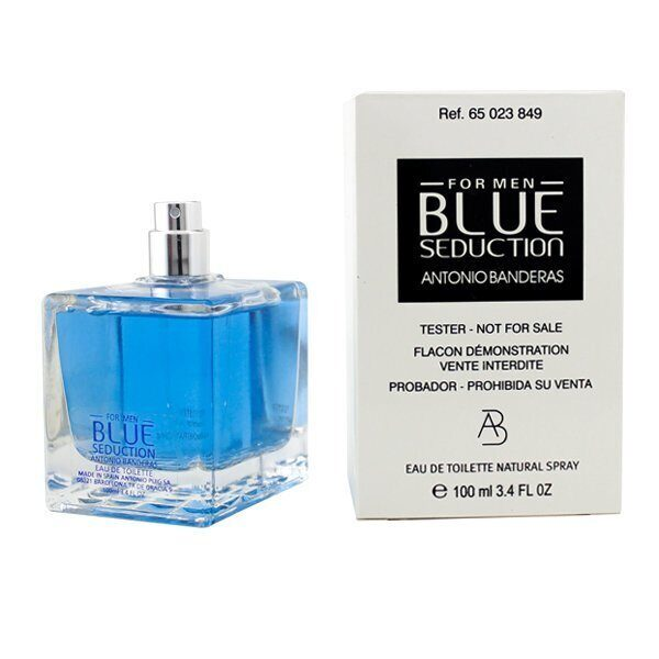Тестер Antonio Banderas Blue Seduction 100 ml.