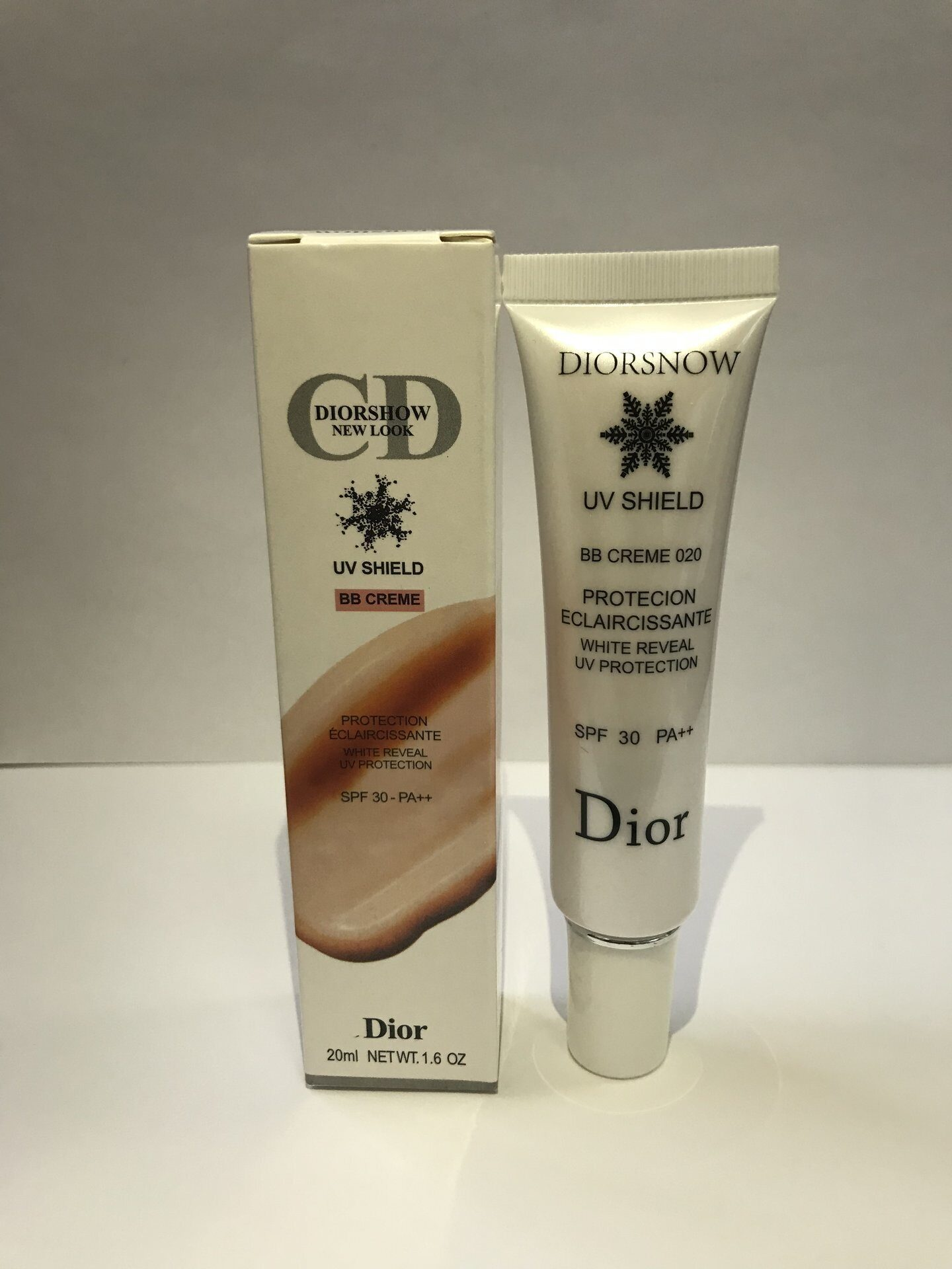 CD NEW LOOK UV SHIELD BB CREME №1