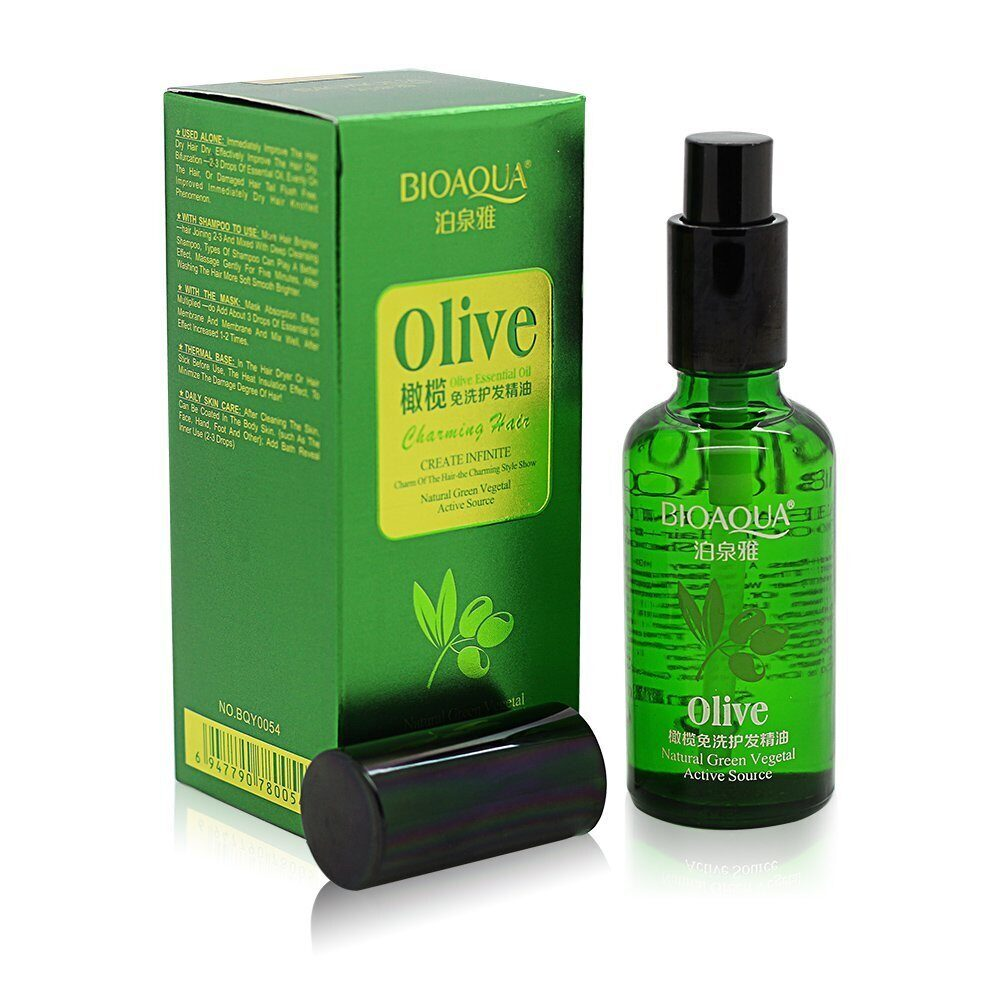 Масло для волос Bioaqua Olive Essential Oil Charming Hair 50 ml.