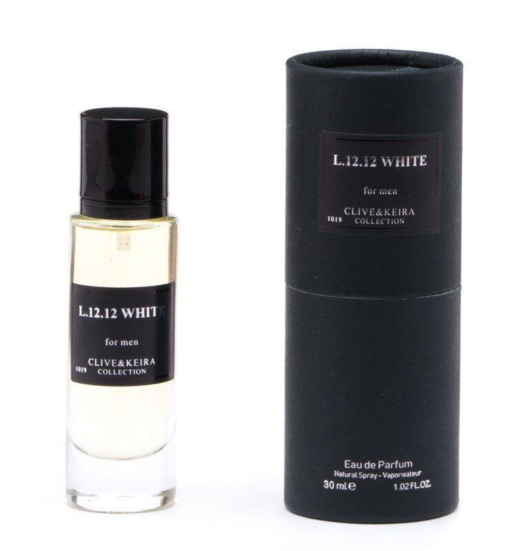 Clive&Keira №1019 L.12.12 WHITE (Lacoste L.12.12 Blunc) for man 30 ml.