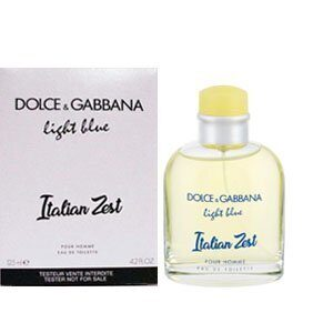(тестер)Dolce&Gabbana .Light Blue Italian Zest Pour Homme.125ml
