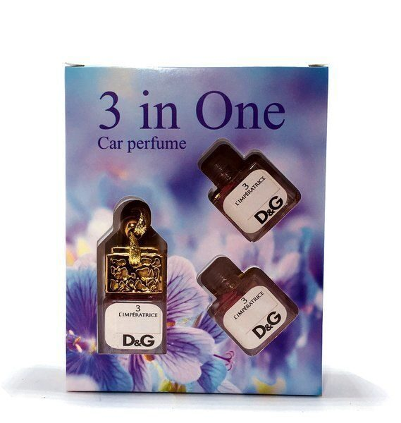 Car perfume 3 in One DOLCE & GABBANA L'IMPERATRICE 3