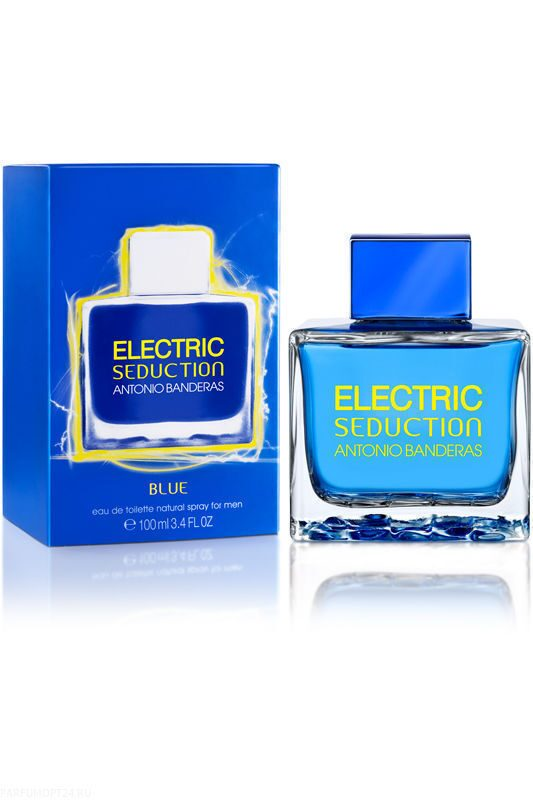 Antonio Banderas  -Electric Seduction Blue for Men