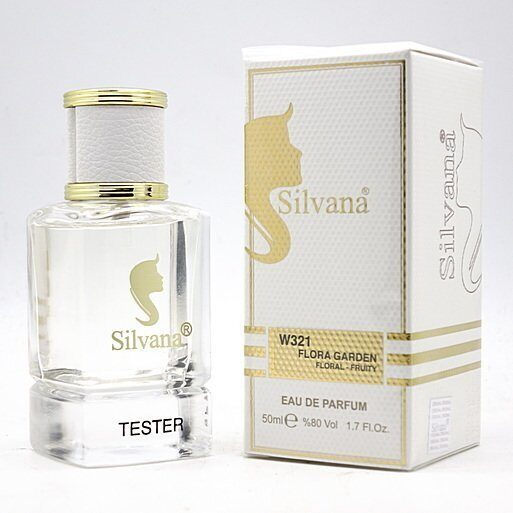 SILVANA 321 (GUCCI FLORA GORGEOUS GARDENIA WOMEN) 50 ml.