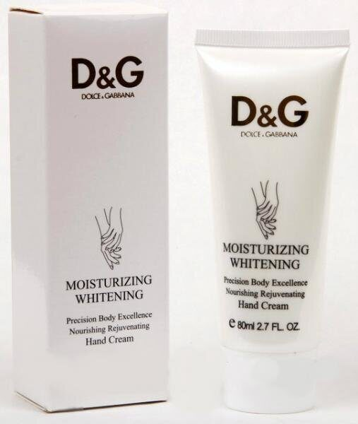 Dolce & Gabbana Крем для рук MOISTURIZING WHITENING 80ML