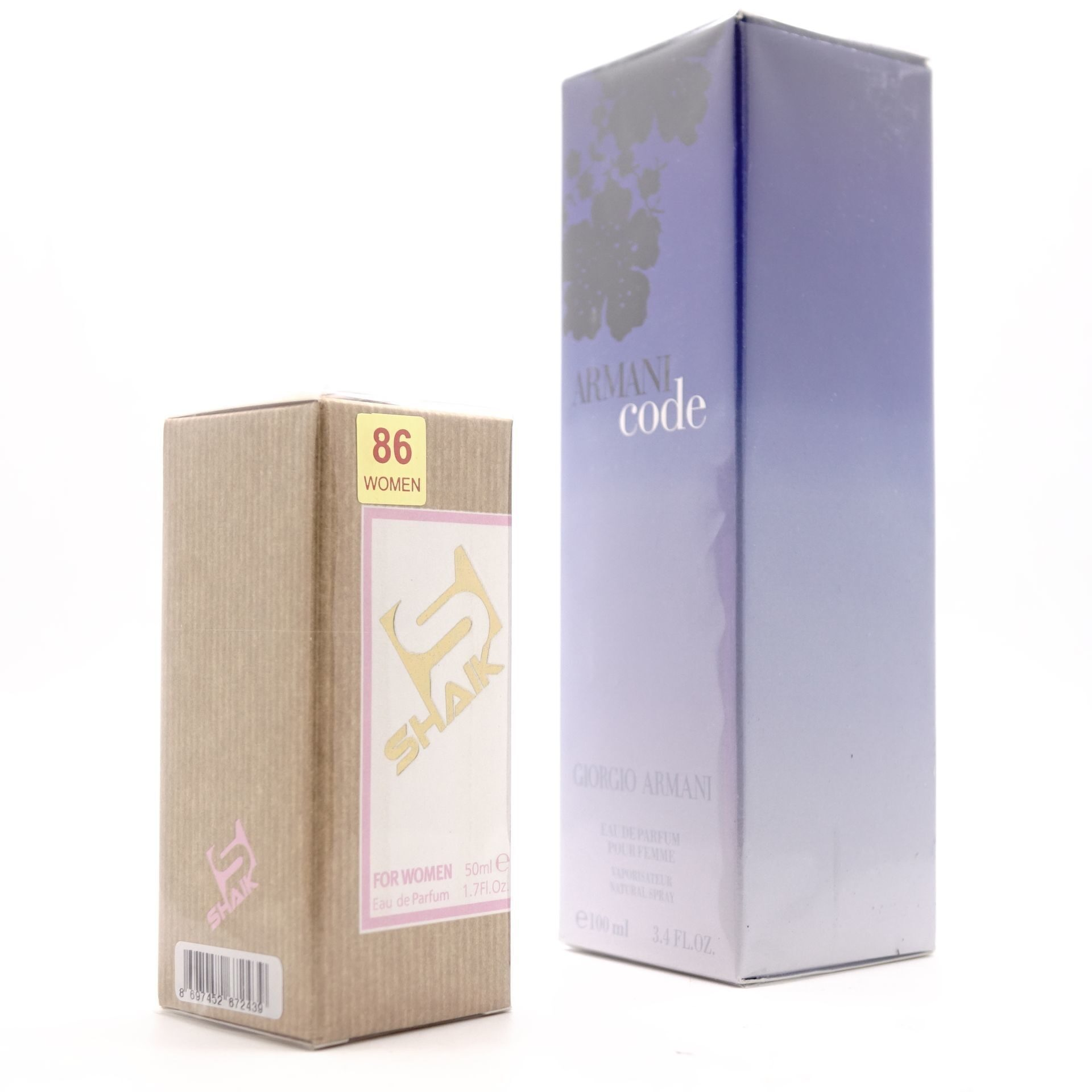 SHAIK W 86 (GIORGIO ARMANI CODE FOR WOMEN) 50ml