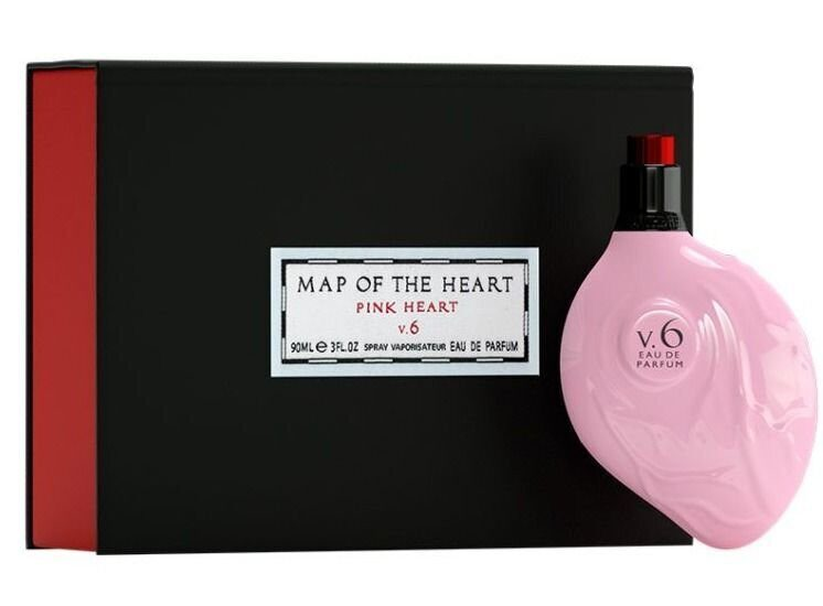 MAP OF THE HEART Pink Heart V.6 90ml