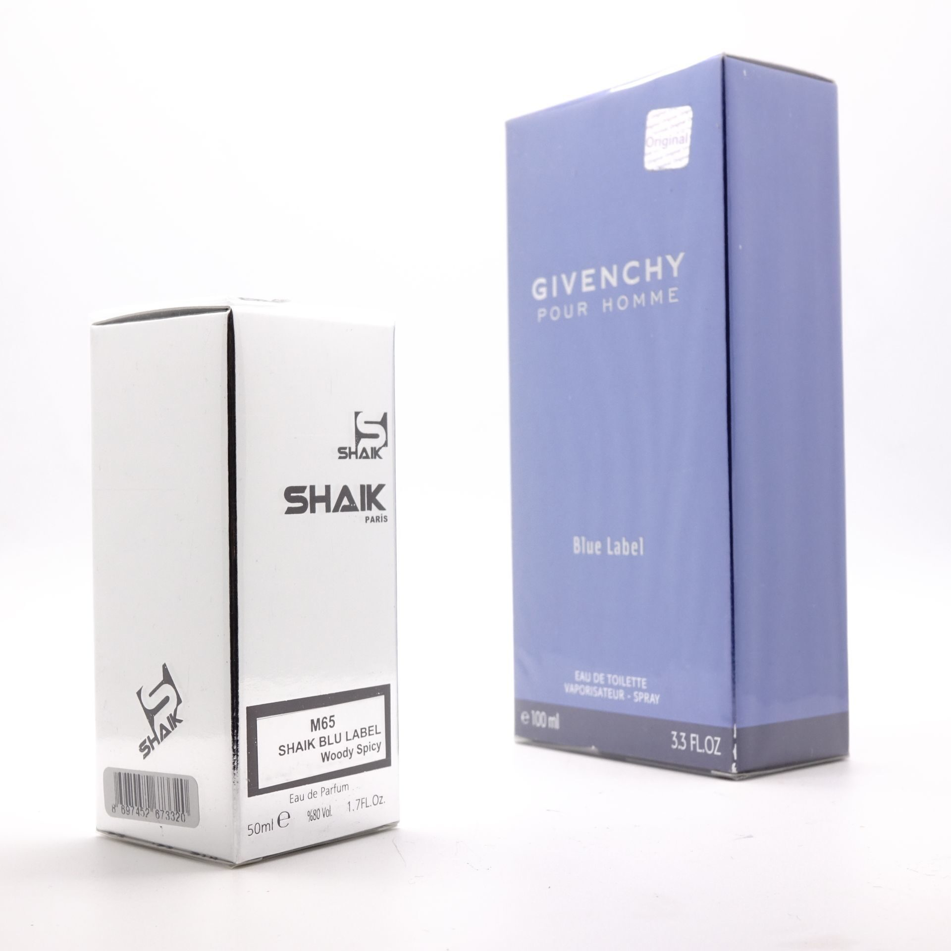 SHAIK M 65 (GIVENCHY BLUE LABEL FOR MEN) 50ml