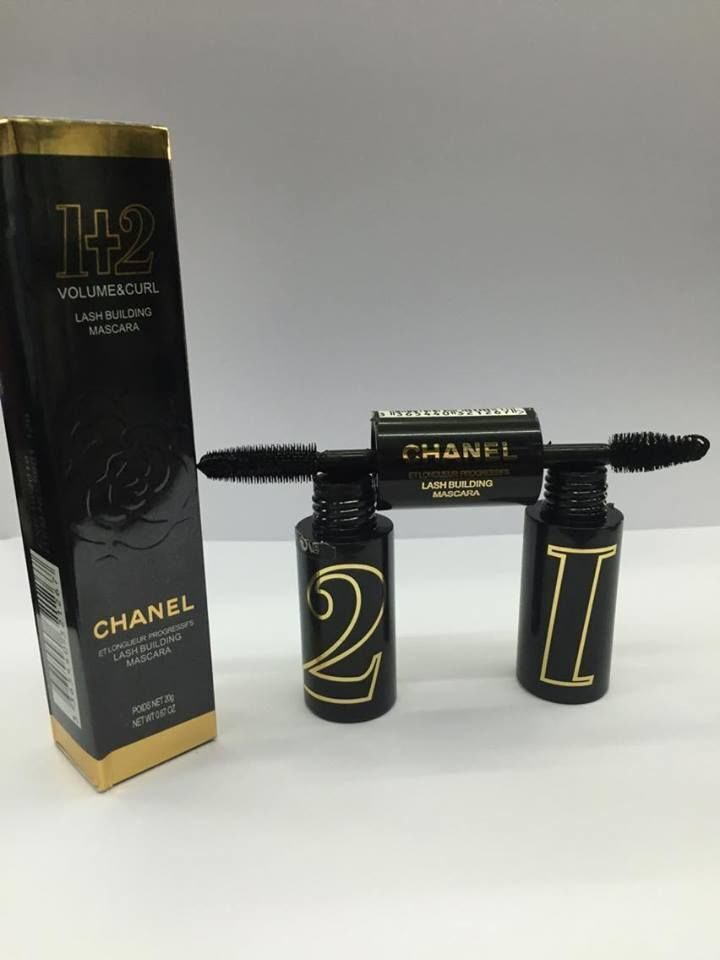 chanel 2in1 VOLUME&CURL LASH BUILDING MASCARA POIDS NET 20g