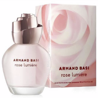 ARMAND BASL rose Lumiere edt 100ml